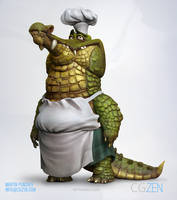 Crock Master Chef by Martin Punchev by VertexBee