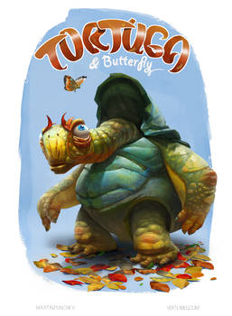 Tortuga and Butterfly