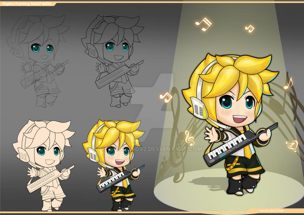 Len Chibi by DinhDung92