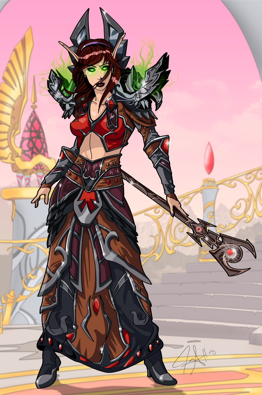 Lvl 70 blood elf warlock erotica galleries