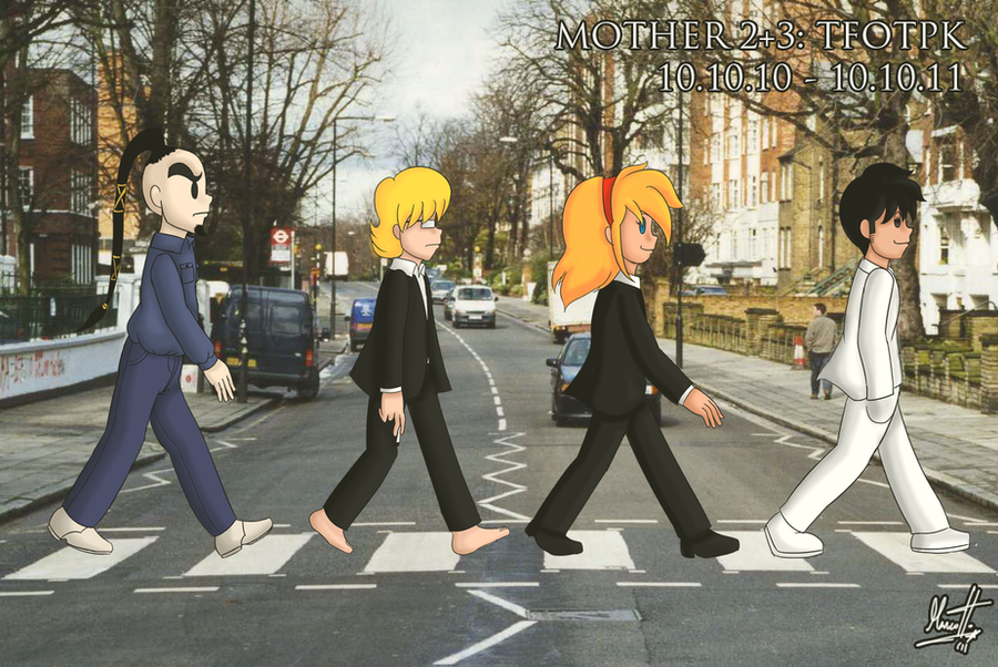 M2+3:TFOTPK - Abbey Road by Marcotto