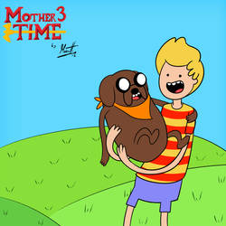 MOTHER 3 Time with Lucas and Boney by Marcotto