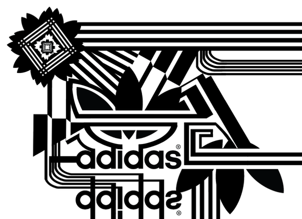 Adidas logos black and white by 11-95 on DeviantArt