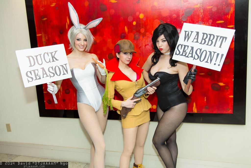 Wabbit Season! Duck Season! by xSoulxxxReaperx