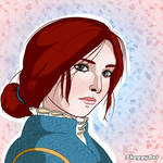 Triss from The Witcher