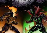 Ghost Rider vs. Spawn