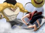 Monkey D. Luffy vs. Rob Lucci