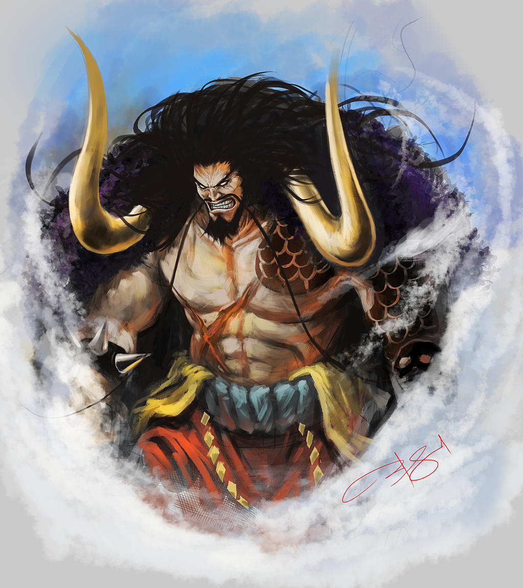 Yonko kaido of the beasts by exialohengrin on deviantart - Fanart anime wallpaper ...