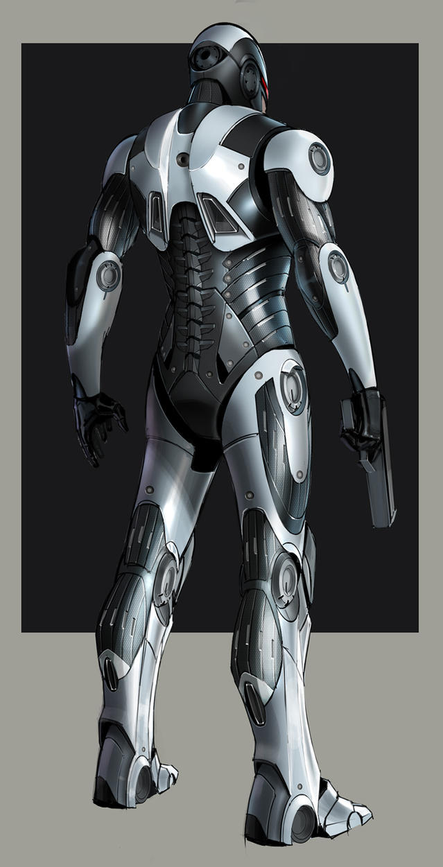 RoboCop Redesign by Hazelrothjason