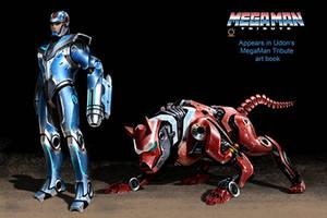 Megaman redesign by Hazelrothjason