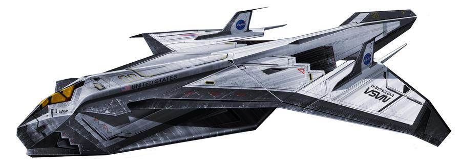 Space Shuttle by Hazelrothjason