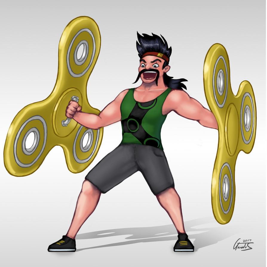 Fidget Spinner Draven by Graphicatt
