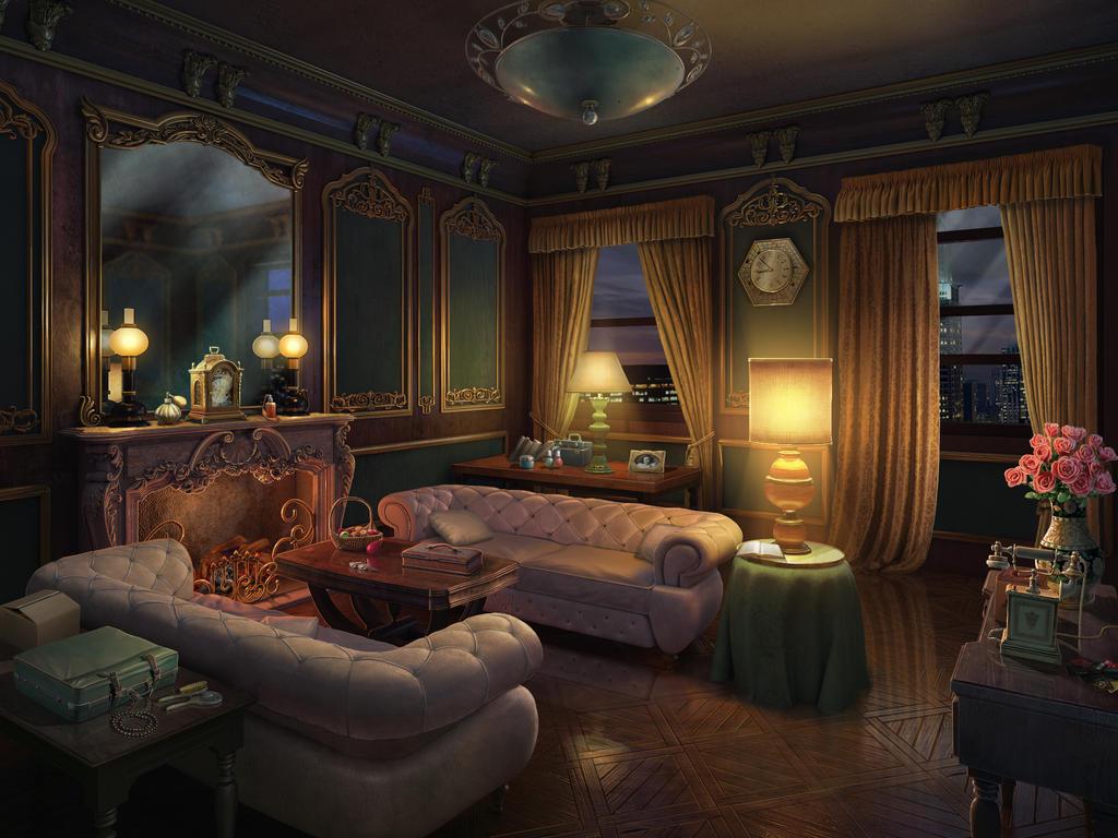 Scene actress room night by denusb on deviantart for Art jardin creation