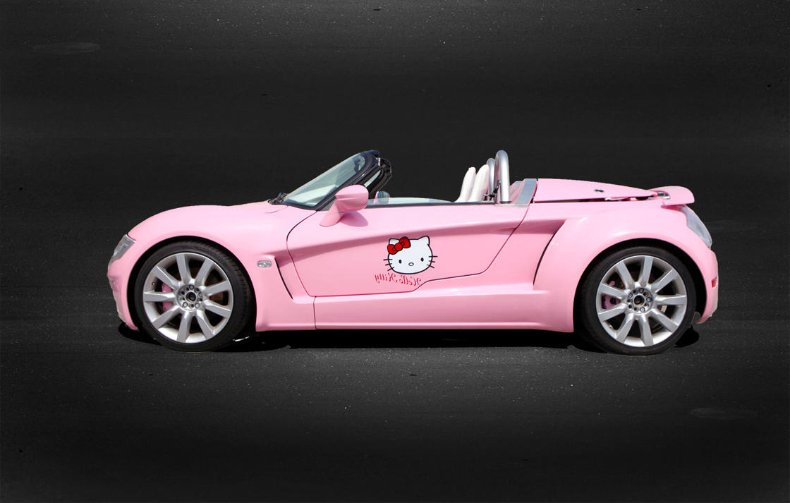 Simple Wallpaper Hello Kitty Car - hello_kitty_car___yes_road_by_tbl2-d4xubyn  You Should Have_469891.jpg