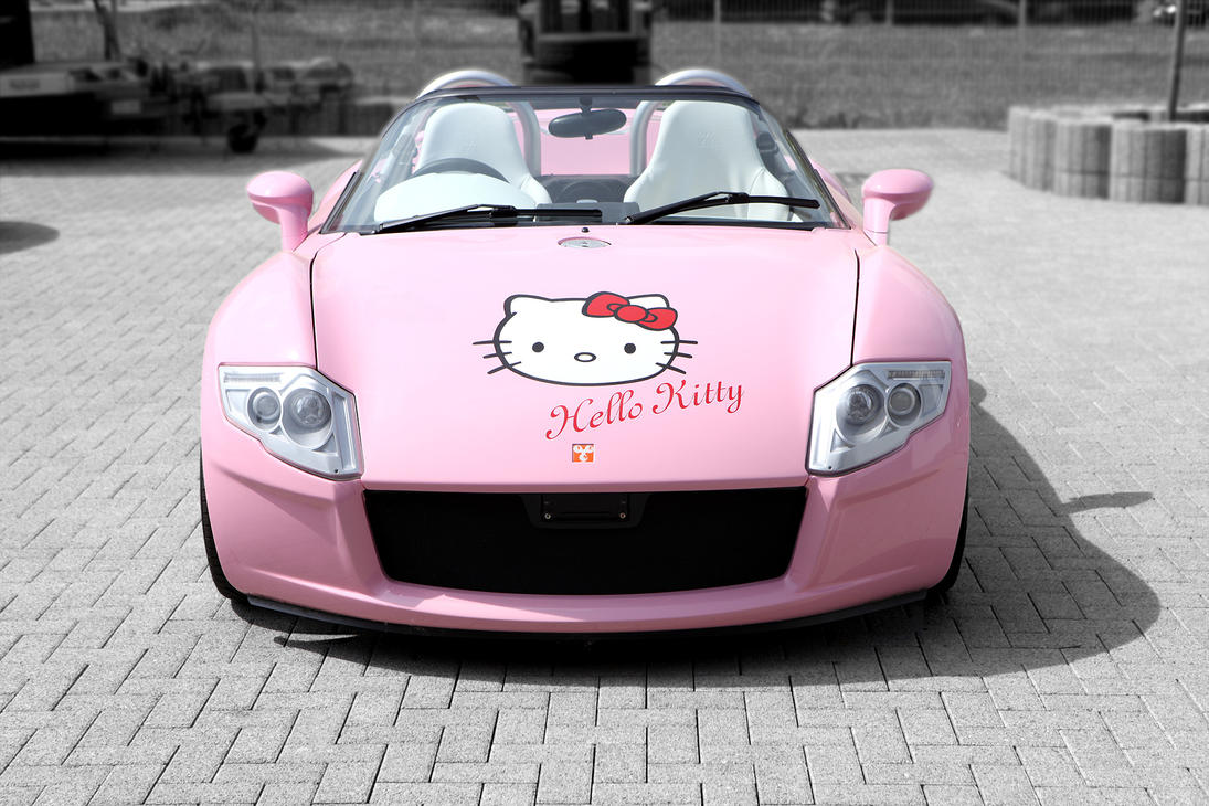 Hello Kitty Car Yes Roadster By Tbl2 On Deviantart