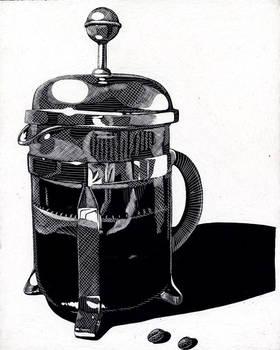 Media: Coffee press