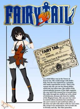 Fairy Tail OC - Silica Nightray