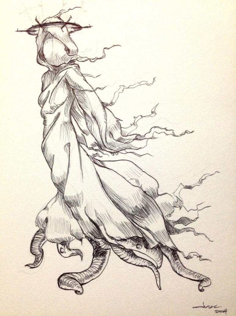inktober 2014 by putridCheese