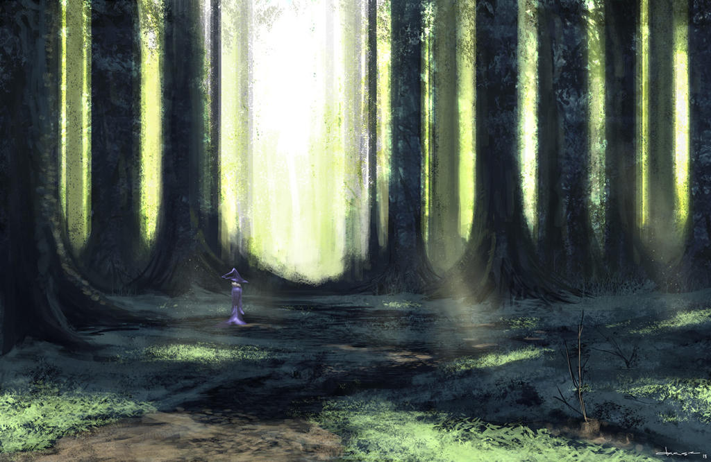 Witching Forest by putridCheese