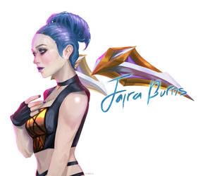 Jaira as Kai'sa by putridCheese