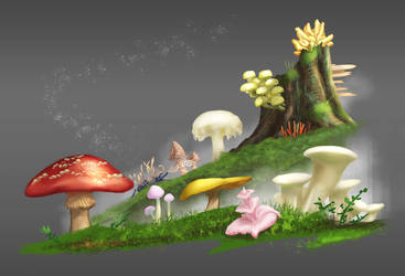 Fungus studies by putridCheese