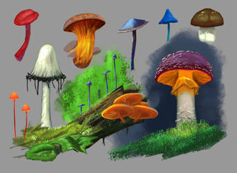 Fungus studies 2 by putridCheese