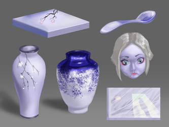 Porcelain studies by putridCheese