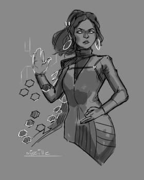 Mireille Sketch