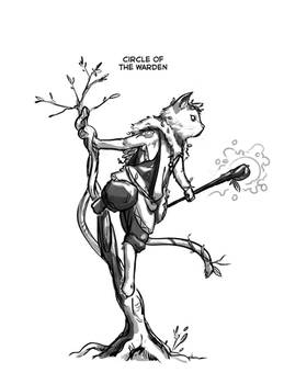 Felis Druid, Circle of the Warden