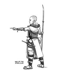 Way of the Steelclad , monastic tradition