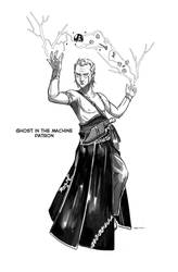 Ghost in the Machine, otherworldly patron