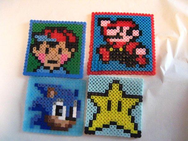 shayla teen nude. Nintendo Perler Coasters by ~x-Shayla-x on deviantART