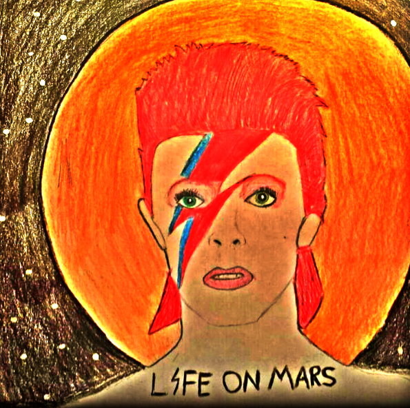 Is there life on Mars? David Bowie by x-Shayla-x on DeviantArt