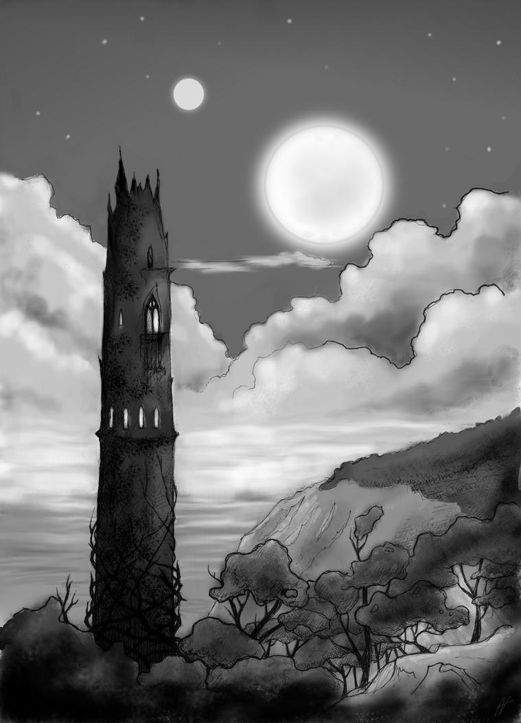 black tower by Nuctameron