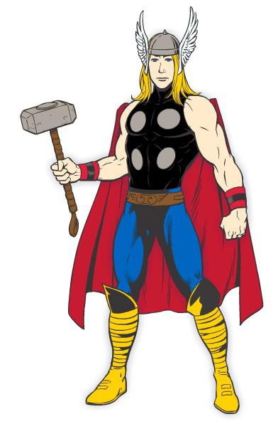 Thor fan art by reader1718