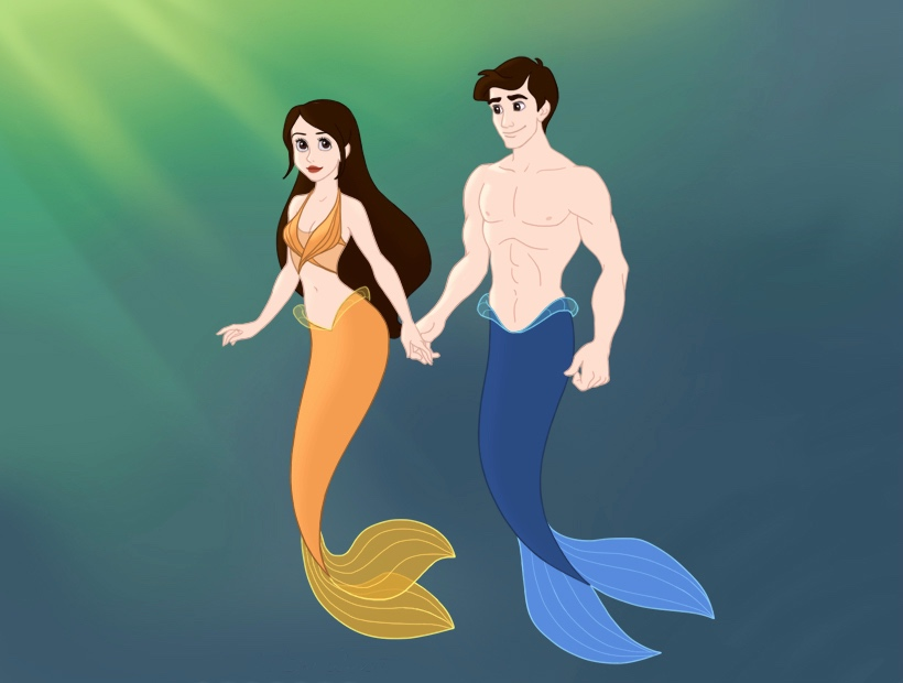 Zac and Mimmi (Disney style) by reader1718