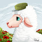Army Sheep| Pixelart by Reicia
