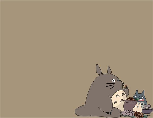 totoro wallpaper. My Neighbour Totoro Wallpaper