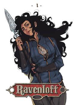 Ravenloft - 'Warrior of Silver Lance'