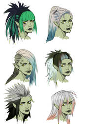 Vote for the hair! by Werility