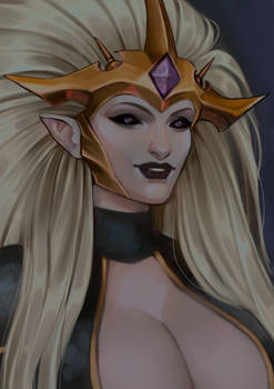 (Commission) Your Dark Eldar Mistress!
