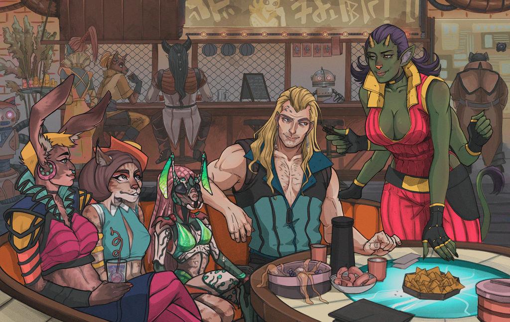 The Bar Encounter