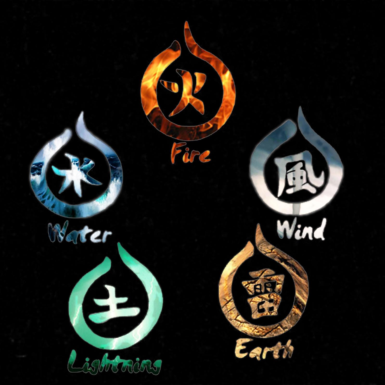 Five Elements Art : Elements by harryneo on deviantart