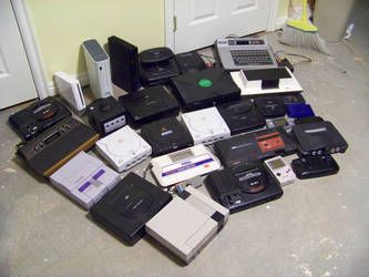 My Console Collection by ALhedgehog