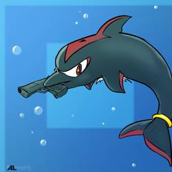 Shadow the Dolphin by ALhedgehog