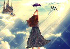 Flying away... by nishagandhi