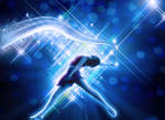 Dance makes ur world beautiful - STOCK IMAGE