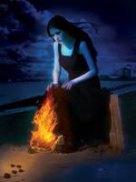 Why did u leave me by nishagandhi