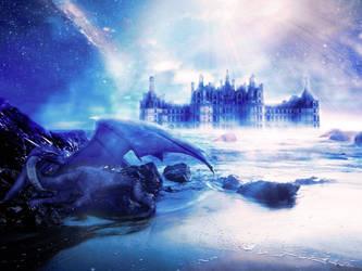 Beautiful fantasy dragon photoshop tutorial