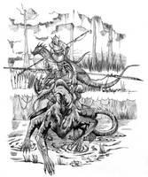 HoMM III - Basilisk by gor1ck